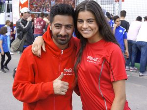 Fußball-Freestyler Adriana Orlovic_Mehmetcan Örücü_FIFA Youth Cup