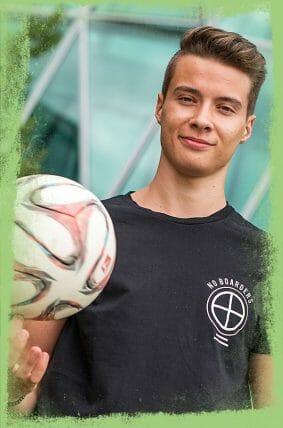 Fußball-Freestyler und Artist David Rau aus Freiburg