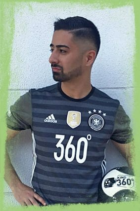 Mehmetcan King of 360 Fußball-Freestyler