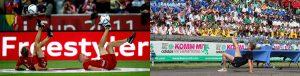 Fußballartist Tommy Rist_Audi Cup Komm Mit International