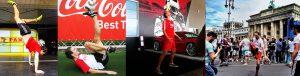Fußball-Jongleur Julian Hollands_buchen Brandenburger Tor