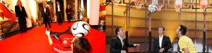 Fußball-Show Jacek der mit dem Ball tanzt_DFB Wetten dass