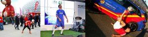 Fußballkünstler Mehmetcan Örücü_Champions-League Finale FC Chelsea