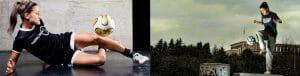 Aylin Yaren Fußball Freestyle-Girl Red Bull