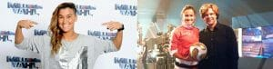 Fußball-Freestyle Girl Aylin Yaren_Sat 1 Millionärswahl ZDF Sportstudio