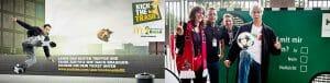 Ballkünstler Julian Hollands_McDonalds kick the trash_HDI Hannover