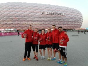 Fußball Freestyler Audi Allianz Arena