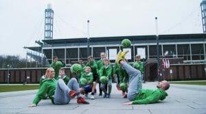 Fußball-Freestyler DEVK Köln