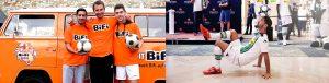 Fußball-Freestyler Mehmetcan Örücü_Borussia Mönchengladbach Show
